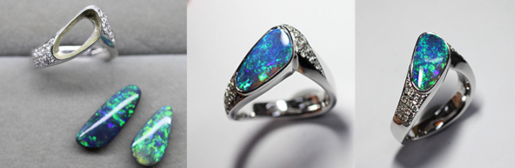 black opal ring replacement